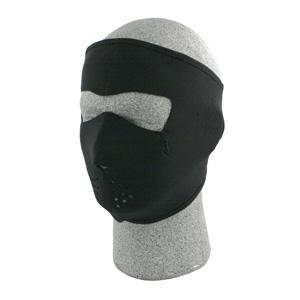 Zan Headgear WNFM114 Neoprene Face Mask  Black BLB407