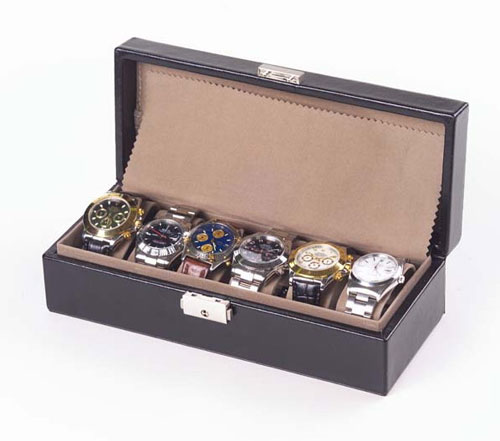 Clava 9906 Watch Box Tuscan Black Business Gifts