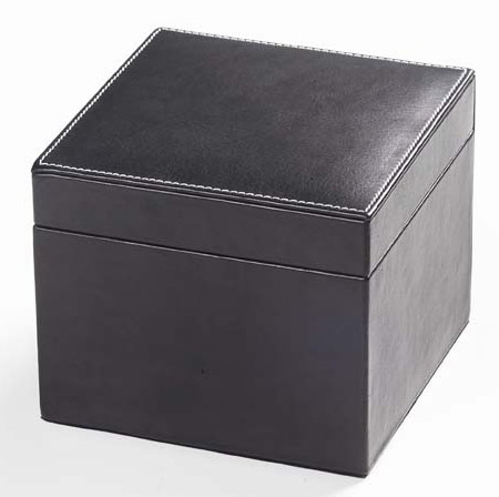 Clava 9909 Tuscan Cube Box in Black