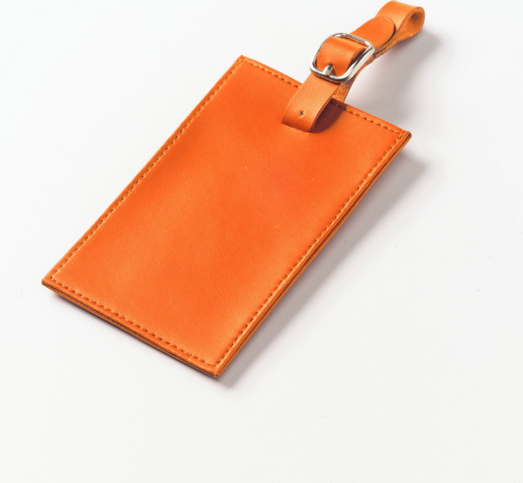 Clava CL-2009 Rectangle Luggage Tag - CL Bright Orange