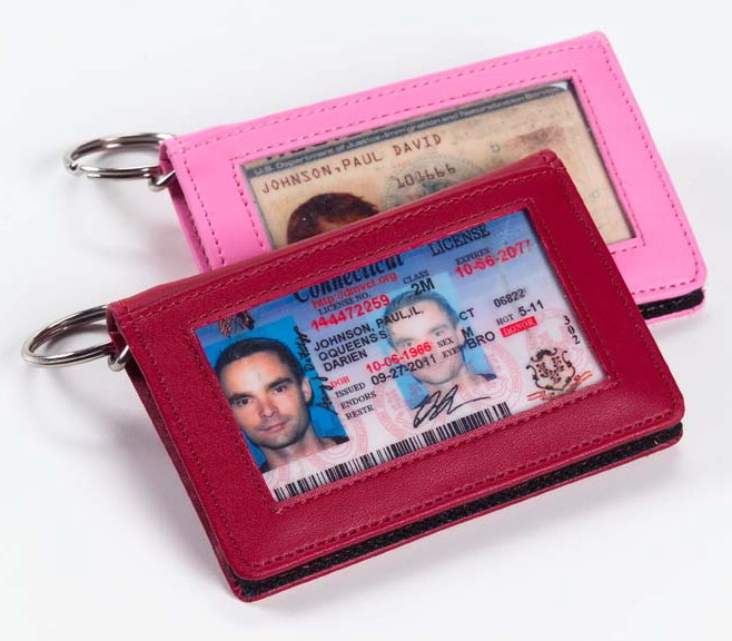 Keychain Wallet - Clava CL-2289 Color ID/Keychain Wallet - CL Pink
