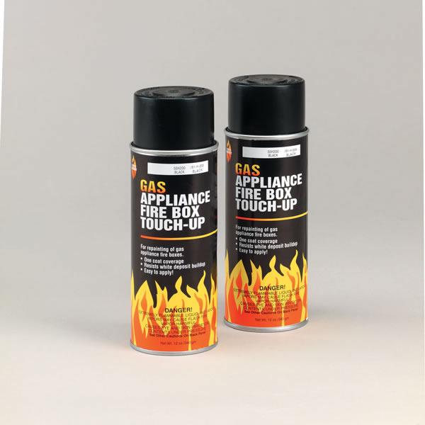 Appliance Paint - Copperfield 43400 Black Gas Appliance Firebox Paint