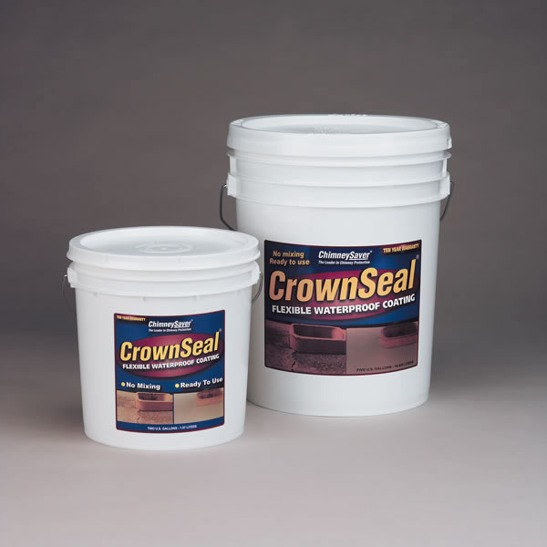 Saver Systems  CrownSeal Pre-mixed Flexible Waterproof Coating  2 Gallon