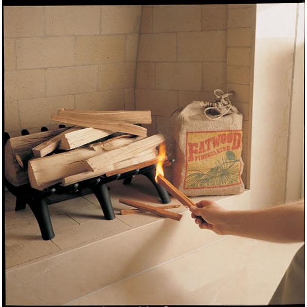 Wood Products Int.  Inc. 09908- Fatwood Firestarter  8 lb. Bag