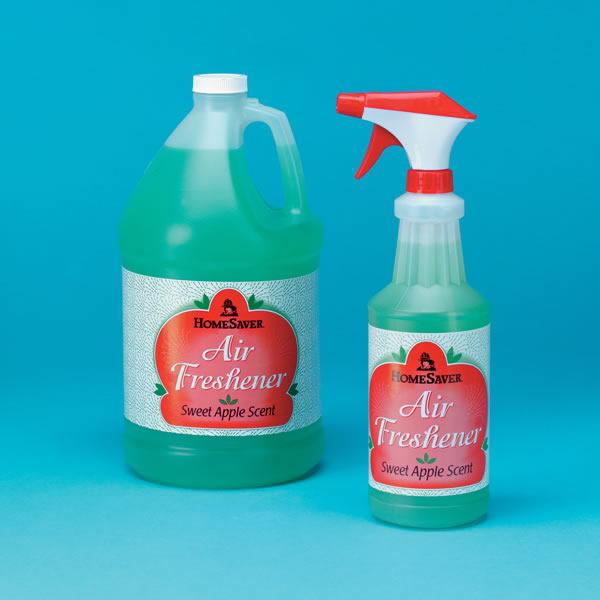 Big D Industries 62077 HomeSaver Apple Air Freshener-1 Qt Spray Bottle  Case Of 6