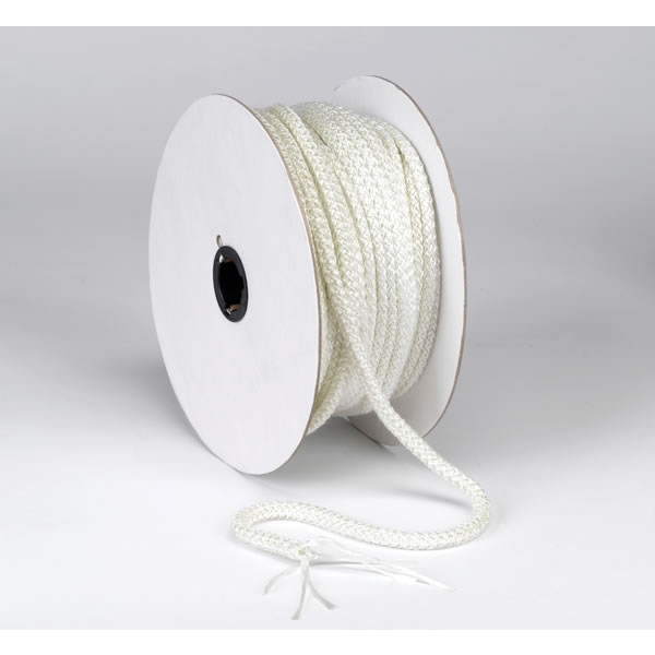 A.W. Perkins Co 1721 HomeSaver White Gasket  Rope 1/4 Inch  X 200'