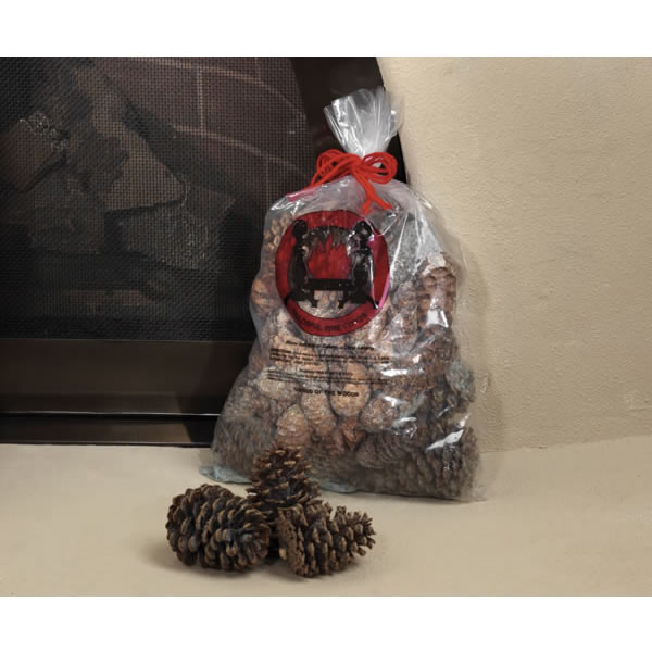 Copperfield Chimney Supply Goods Of The Woods 10100 Magical Color Pine Cones  2.5 lb. Bag  Burn Blue And Green at Sears.com