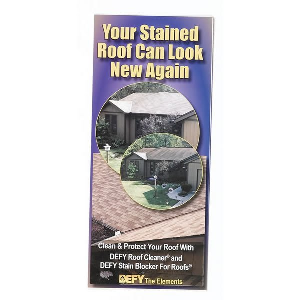 Saver Systems Roof Cleaning Brochures Pack Of 100