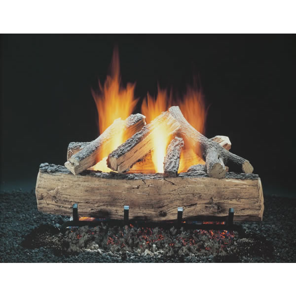 Hargrove Manufacturing SSS1805AA 18 Inch  Hargrove Seasoned Split Oak  Vented  Gas Logs Only  RGA 2-72 Approved