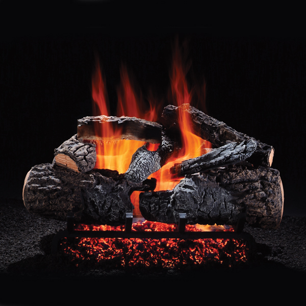 Hargrove Manufacturing  21 Inch  Cross Timbers Vented Gas Logs  Logs Only  RGA 2-72 Approved