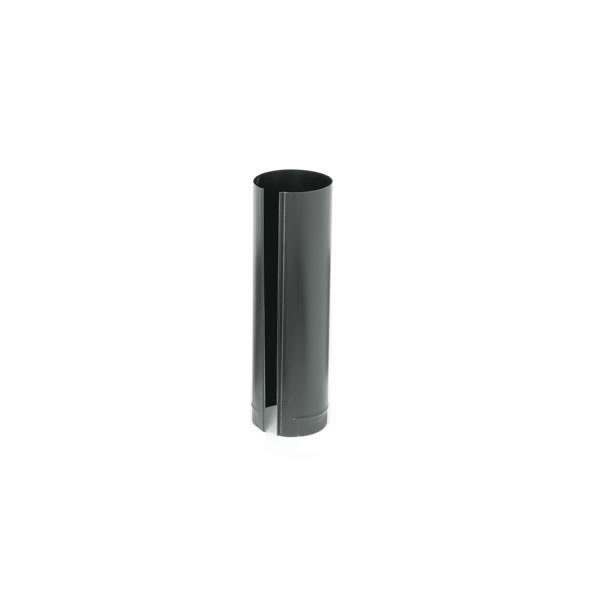 Gray Metal Products  Inc. 5-24-600 5 Inch  x 24 Inch  24-ga Snap-Lock Black Stovepipe
