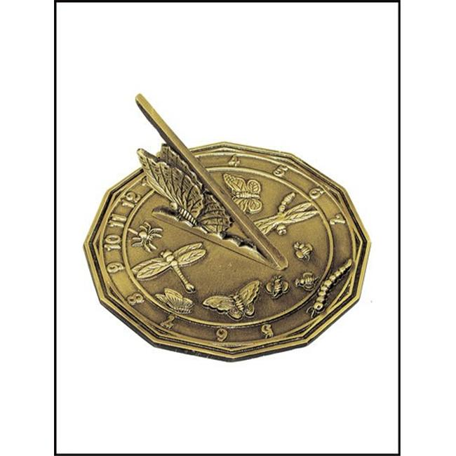 Rome-Industries-2318-Brass-Butterfly-Sundial