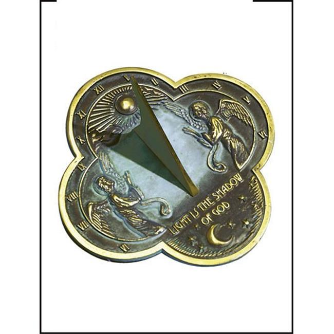 Rome-Industries-2340-Brass-Angel-Sundial
