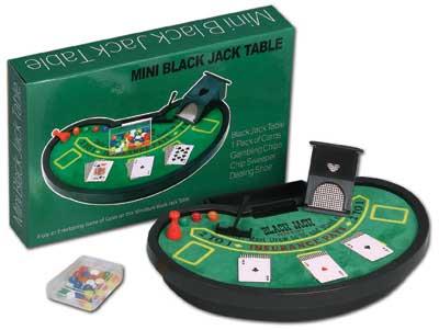 Ruda Overseas 331 Mini Black Jack Table Set