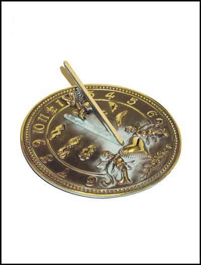 Rome Industries 2316 Brass Cherub Sundial