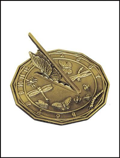 Rome Industries 2318 Brass Butterfly Sundial