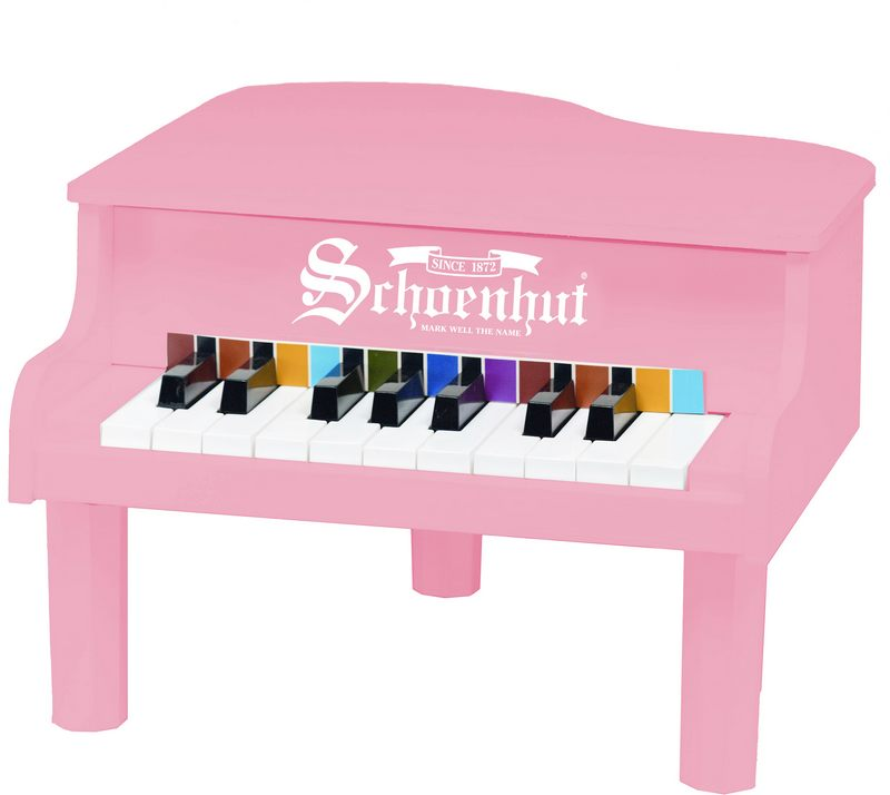 Schoenhut 189P Pink 18 Key Mini Grand