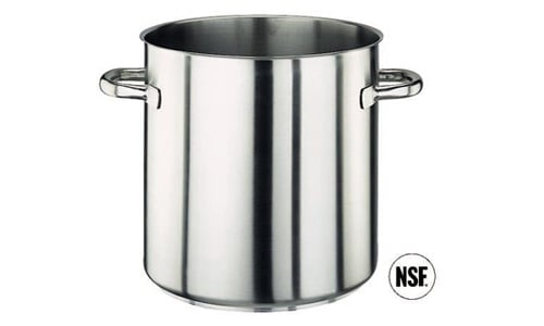 Paderno World Cuisine 11001-18 Stock Pot  Stainless Steel  No Lid