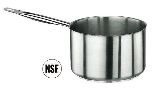 Paderno World Cuisine 11006-24 Sauce Pan  Stainless Steel  No Lid
