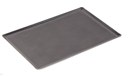 Paderno World Cuisine 41753-60 Perforated Baking Sheet  Silicone Coated