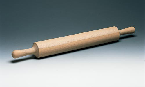 Paderno World Cuisine 47038-50 Wood Rolling Pin  Wood Handles WDC3094