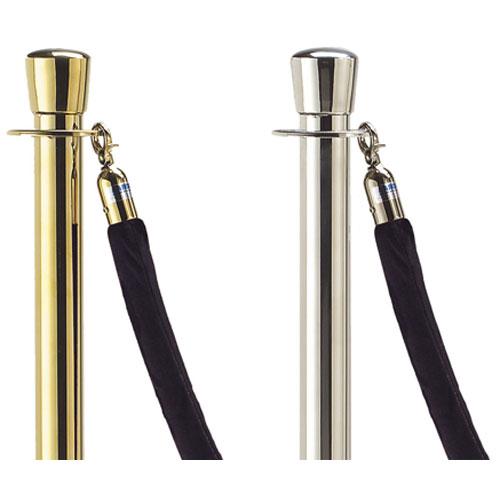 Aarco TR-6  6 Foot  Black Rope  Brass Hardware