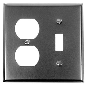 Acorn AW6BP 0321 Duplex Wall Plate 1-Toggle