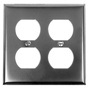 Acorn AW8BP 03200 Double Duplex Wall Plate