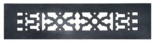 Acorn GR3BG 12 x 2.25 Black Cast Iron Decorative Grille