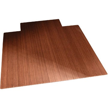 Anji Mountain AMB24004 36 x 48 Inch Bamboo Roll-Up - 0.25 Inch Thick with 9.25 Inch Tongue - Dark Cherry