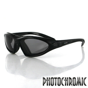 Zan Headgear BDG001 Road Master Convertible  Black Frame  Photochromic Lens BLB066