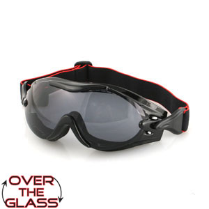 Zan Headgear BPX001 Phoenix  OTG Interchangeable Goggle  3 Sets of Lenses BLB087