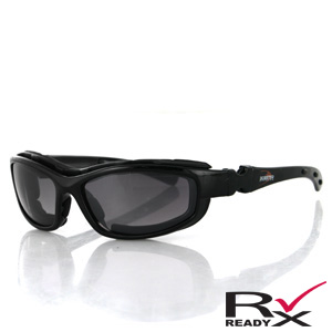 Zan Headgear BRH2001 Road Hog II Convertible  Black Frame  4 Lenses BLB091