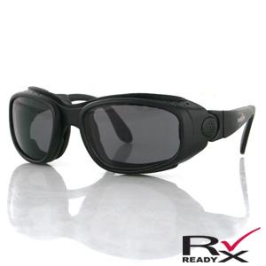 Zan Headgear BSSA001AC Sport and Street Convertible  Black Frame  3 Lenses