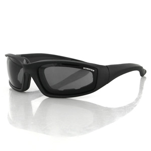 Zan Headgear ES214 Foamerz 2 Sunglasses  Smoke Anti-fog Lenses  Blk Frame