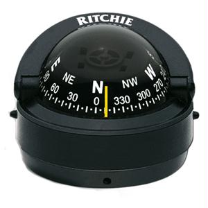 Ritchie Compass S-53 Surface Mount Explorer - Black