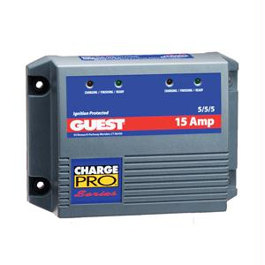 Guest 2613A 15 Amp Three battery Application Charger