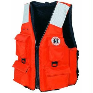 Mustang 4-Pocket Flotation Vest:  Large