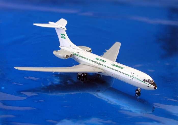 Daron Worldwide Trading  GJ690 Gemini Nigeria Airways VC-10 Standard 1/400