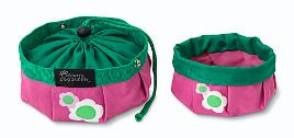 Doggles DOBOTRLG-02 Travel - Bowl Large Pink