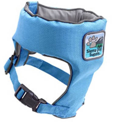 Swim Vest - Doggles DOFDVETC-04 Swim Vest - Teacup Light Blue
