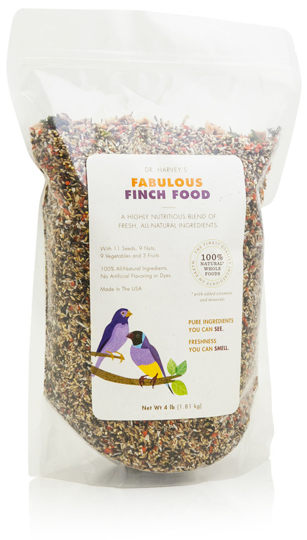 Dr. Harveys Fabulous Finch Food - 4 lbs