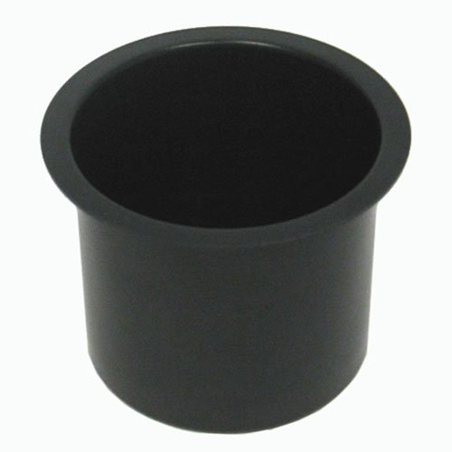 Jumbo Aluminum BLACK Poker Table Cup Holder POKER6966