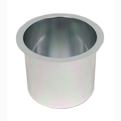 Jumbo Aluminum SILVER Poker Table Cup Holder POKER6972
