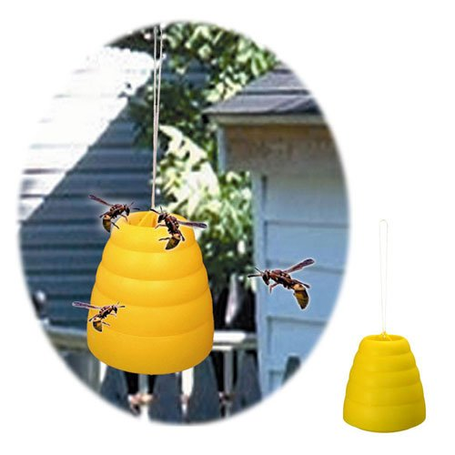 Poker 823216 Beehive Wasp Trap Yellow