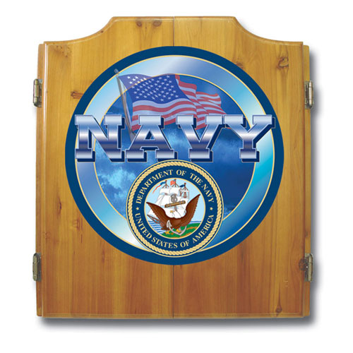US Navy Cabinet includes Darts and Board