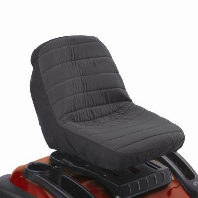Classic Accessories 12314 Deluxe Tractor Seat Cover - Black -Sm
