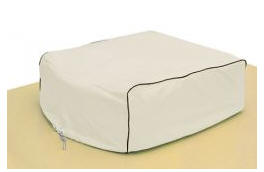 Classic Accessories 77410 RV AC Cover - Snow White - Model 1 CLSS242