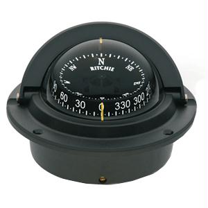 Ritchie Compass F-83 Flush Mount Voyager - Black