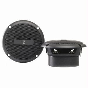"Poly-Planar MA3013G 3"" Flush Mount Speakers - Grey"
